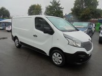 2015 RENAULT TRAFIC 1.6 SL29 BUSINESS DCI DIESEL  115 BHP SHORT WHEEL BASE ONE LEASE COMPANY OWNER  SUPER CONDITION  £SOLD