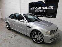 2003 BMW M3 3.2 M3 2d 338 BHP £10991.00