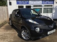 USED 2013 13 NISSAN JUKE 1.6 ACENTA PREMIUM 5d 44K FSH 1FAMILY OWNED HIGH SPEC PREMIUM MODEL EXC CONDITION