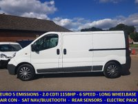 2014 VAUXHALL VIVARO 2900 LWB 115BHP WITH AIR CON & FULL ELECTRIC PACK £6995.00