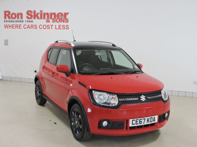 View our 2017 67 SUZUKI IGNIS 1.2 SZ-T DUALJET 5d AUTO 89 BHP with Black Roof