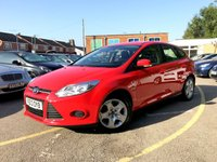 2013 FORD FOCUS 1.0 TURBO EDGE 5 DOOR ONLY 52K, SERVICE HISTORY, 2 FORMER KEEPERS  £5990.00