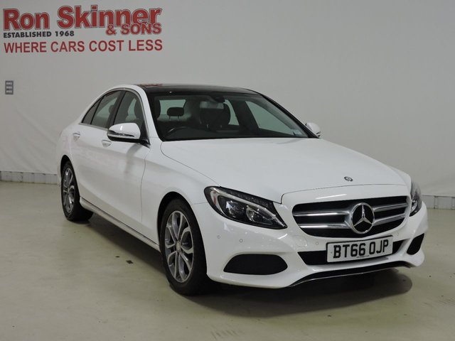 View our 2016 66 MERCEDES-BENZ C-CLASS 2.1 C220 D SPORT PREMIUM 4d AUTO 170 BHP
