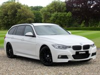 USED 2014 14 BMW 3 SERIES 2.0 318D M SPORT TOURING 5d AUTO 141 BHP An estate car that thinks its a coupe!!