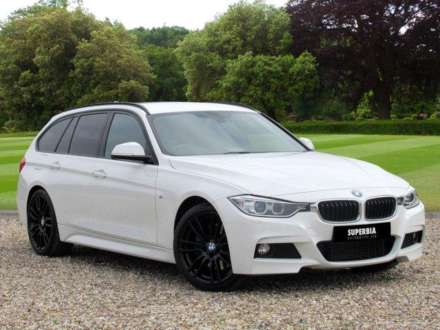 2014 14 BMW 3 SERIES 2.0 318D M SPORT TOURING 5d AUTO 141 BHP