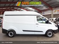 "USED 2014 14 FORD TRANSIT CUSTOM 2.2 290  L2H2 LWB HI ROOF VAN-ONE OWNER-SERVICE HISTORY ""YOU'RE IN SAFE HANDS"" - AA DEALER PROMISE"