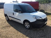 USED 2015 65 FIAT DOBLO 1.2 16V MULTIJET 1d 90 BHP VERY ECONOMICAL VAN CHOICE OF 5 IN STOCK