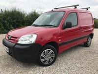 USED 2007 07 PEUGEOT PARTNER 1.6 HDI 75PS 600KG