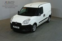 USED 2013 13 FIAT DOBLO 1.2 16V MULTIJET SWB 90 BHP FWD PANEL VAN ONE OWNER SPARE KEY SERVICE HISTORY