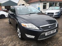 USED 2010 10 FORD MONDEO 2.0 TITANIUM 140 TDCI 5d 140 BHP VOICE COMM / CRUISE CONTROL / MAIN DEALER SERVICE HISTORY