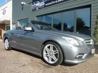 2010 MERCEDES-BENZ E CLASS 1.8 E250 CGI BLUEEFFICIENCY SPORT 2d AUTO 204 BHP £12495.00