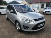 USED 2014 64 FORD C-MAX 2.0 TITANIUM X TDCI 5d 161 BHP REVERSE CAMERA / SAT NAV / PANORAMIC ROOF / START STOP SYSTEM / SOLAR REFLECTIVE WINDSCREEN