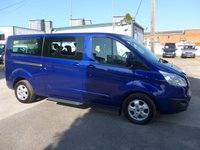 USED 2016 66 FORD TOURNEO CUSTOM 2.0 310 TITANIUM TDCI 9 SEATER, 129 BHP, HEATED SEATS, AIR CON