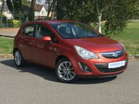 USED 2013 13 VAUXHALL CORSA 1.2 SE 5d 83 BHP One Former Keeper, Low Mileage