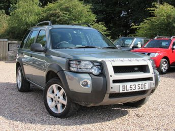 2003 LAND ROVER FREELANDER 2.0 TD4 HSE STATION WAGON 5d AUTO 110 BHP £SOLD