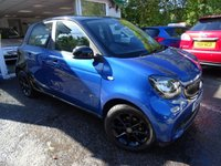 USED 2016 16 SMART FORFOUR 1.0 PASSION 5d 71 BHP Full Service History (Smart + ourselves), One Lady Owner from new, MOT until July 2019, Excellent fuel economy! ZERO Road Tax! Very Low Insurance Group! Balance of Smart Warranty until July 2019.