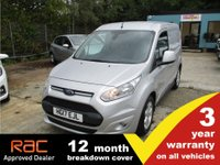 2017 FORD TRANSIT CONNECT 200 L1 SWB Limited £10250.00