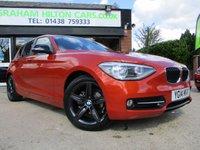 2014 BMW 1 SERIES 2.0 118D SPORT 5d 141 BHP £9000.00