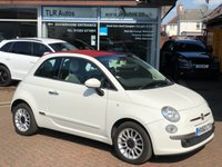 USED 2010 60 FIAT 500 1.2 C LOUNGE 3d 69 BHP Free MOT for Life