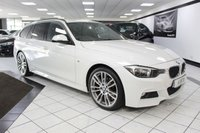 2015 BMW 3 SERIES 318D M SPORT TOURING AUTO £17450.00