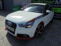 USED 2011 02 AUDI A1 1.6 TDI COMPETITION LINE 3d 105 BHP Special Edition, Excellent Condition, No Deposit Necessary