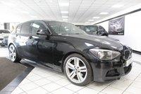 2013 BMW 1 SERIES 2.0 120D M SPORT 181 BHP £9275.00