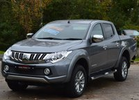 USED 2016 16 MITSUBISHI L200 2.4 DI-D 4X4 BARBARIAN DCB 1d 178 BHP ***PRICE IS PLUS VAT*** ***FULL LEATHER*** ***SATELLITE NAVIGATION***