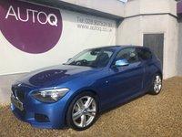 2013 BMW 1 SERIES 2.0 120D M SPORT 3d 181 BHP £10995.00