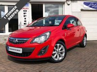 USED 2014 14 VAUXHALL CORSA 1.2 EXCITE AC  PART LEATHER - HEATED SEATS - HEATED STEERING WHEEL - READY TO DRIVE AWAY!
