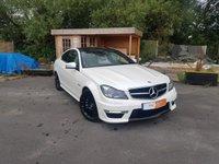 2012 MERCEDES-BENZ C CLASS 6.2 C63 AMG EDITION 125 2d AUTO 457 BHP £32000.00
