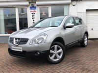 USED 2008 08 NISSAN QASHQAI 2.0 TEKNA 5d  ~SILVER QASHQAI FOR SALE IN AYR~FINANCE ARRANGED~