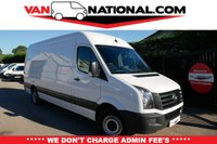 2015 VOLKSWAGEN CRAFTER 2.0 CR35 TDI H/R P/V 135 BHP (ONE OWNER LWB READY TO GO TODAY) £11890.00