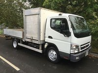 USED 2008 58 MITSUBISHI FUSO CANTER 3.0 75 DAY 7C15 1d 144 BHP AIR CONDITIONG NO VAT IF EXPORT MANUAL