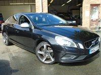 2012 VOLVO S60 2.4 D5 R-DESIGN LUX NAV 4d 212 BHP £6495.00