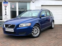 USED 2008 08 VOLVO V50 1.8 S 5d  ~VOLVO V50~AYR~FINANCE ARRANGED~1 FORMER KEEPER