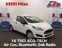 2014 FORD FIESTA 1.6 ECONETIC TDCI Stop Start, Air Con, Aux, Usb, Bluetooth Electric Windows/Mirrors. £4980.00