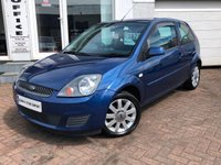 2007 FORD FIESTA 1.2 SILVER LIMITED  £1775.00