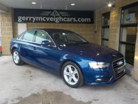 USED 2015 15 AUDI A4 2.0 TDI ULTRA SE TECHNIK 4d 134 BHP £20.00 RFL; 68.9mpg