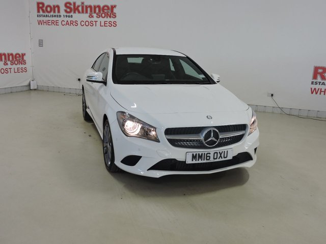View our 2016 16 MERCEDES-BENZ CLA 2.1 CLA 200 D SPORT 4d AUTO 134 BHP