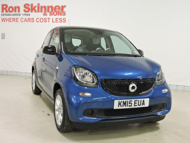 View our 2015 15 SMART FORFOUR 0.9 PASSION T 5d 90 BHP