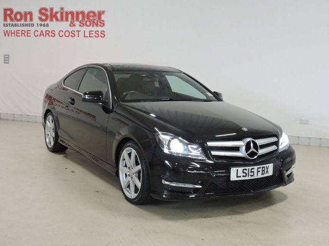 View our 2015 15 MERCEDES-BENZ C-CLASS 2.1 C220 CDI AMG SPORT EDITION PREMIUM PLUS 2d AUTO 168 BHP