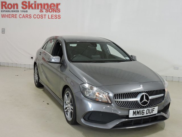 View our 2016 16 MERCEDES-BENZ A-CLASS 2.1 A 200 D AMG LINE 5d 134 BHP