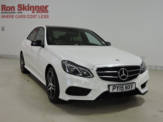 View our 2015 15 MERCEDES-BENZ E-CLASS 2.1 E220 BLUETEC AMG NIGHT EDITION PREMIUM 4d AUTO 174 BHP