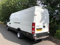 USED 2013 13 IVECO-FORD DAILY 3.0 50C15V LWB HIGH ROOF 4.6 METRE TWIN WHEEL 1 OWNER DOWNRATED 3.5 TON
