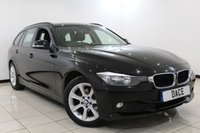 USED 2015 15 BMW 3 SERIES 2.0 316D ES TOURING 5DR 114 BHP Full Service History FULL BMW SERVICE HISTORY + SAT NAVIGATION + BLUETOOTH + CRUISE CONTROL + MULTI FUNCTION WHEEL + AIR CONDITIONING + 17 INCH ALLOY WHEELS