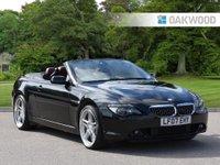 2007 BMW 6 SERIES 4.8 650I SMG 2d AUTO 363 BHP £SOLD