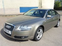 USED 2007 56 AUDI A6 2.7 TDI SE TDV 4d 177 BHP NAVIGATION SYSTEM +  SERVICE RECORD +  FULL YEAR MOT +  CRUISE CONTROL +