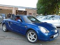 2003 TOYOTA MR2 1.8 ROADSTER HARD TOP 2d 138 BHP £1295.00