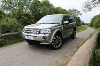 2013 LAND ROVER FREELANDER 2.2 TD4 HSE LUXURY 5d 150 BHP £18000.00