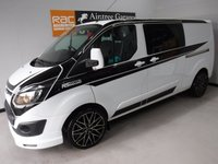 USED 2016 16 FORD TRANSIT CUSTOM 2.2 290 LR DCB 1d 99 BHP Specification Includes;GLEAMING METALLIC WHITE, ONE OWNER  FULL FORD SERVICE HISTORY, IMMACULATE BODY WORK, ELEC WINDOWS, ARM REST, REMOTE CENTRAL LOCKING, CD PLAYER, BULK HEAD, CARGO LINING, POWER ASSISTED STEERING, TOW BAR, CRUISE CONTROL, WILL COME FULL SERVICED READY FOR WORK GREAT VAN for more Information Please Call Now on 0151525 4400,  07967141248. Family Run Business Since 1990